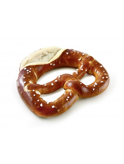 Lye Pretzel with salt ended, 100g