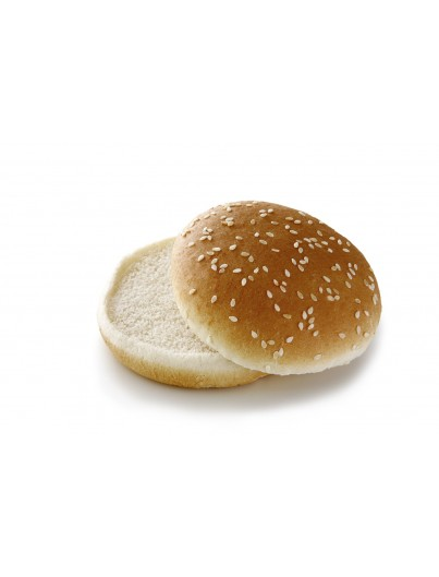 Hamburger bread cut Sesame, 55g