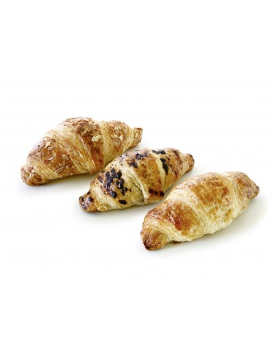 Mini-Mix Butter Croissants, 45 g
