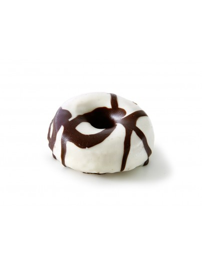 Mini Donuts chocolate Blanco, 40g
