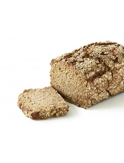 Whole wheat bread with several pipes, 1000g