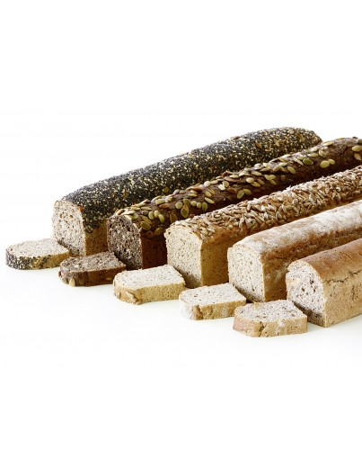 Sortiment von geschnitten Brot, 430g