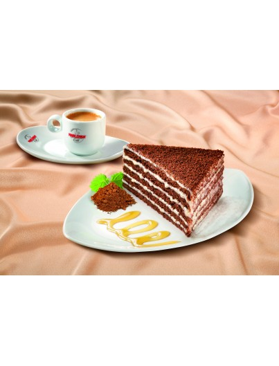 Honey with chocolate and cream (Doce) cake, 850g