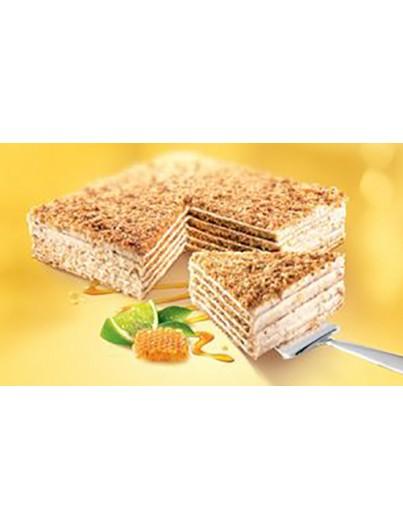 Tarta de miel con limón (Marlenka), 800g